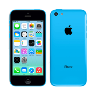 iPhone 5c, 8 GB, Blau, Produktalter: 43 Monate