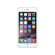 iPhone 6 Plus, 128GB, Silber/Weiss, Produktalter: 33 monate
