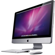 iMac 27-inch, 3,06 GHz Intel Core 2 Duo, 4GB (2x2GB) PC8500 DDR3, 1TB HDD, 7200rpm, Produktalter: 91 monate