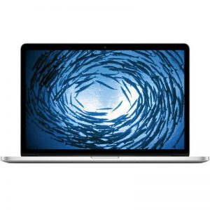 MacBook Pro 15-inch Retina, 2.4 GHz Intel Core i7, 8 GB, 256GB SSD, Produktalter: 58 Monate
