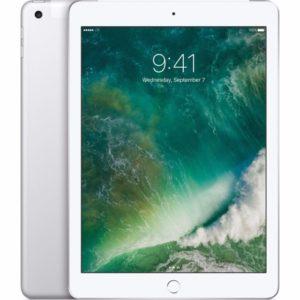 iPad 5th gen (Wi-Fi + 4G), 32GB, Silber, Produktalter: 1 Woche