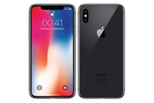 iPhone X 256GB, 256 GB, Space Grau