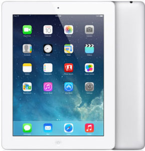 iPad 4 Wi-Fi 16GB, 16 GB, White