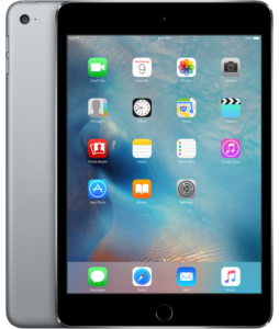 iPad mini 4 Wi-Fi 128GB, 128GB, Gray