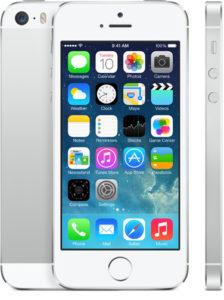 iPhone 5S 16GB, 16 GB, Silver