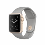 Watch Series 1 Aluminum (38mm), YELLOW GOLD