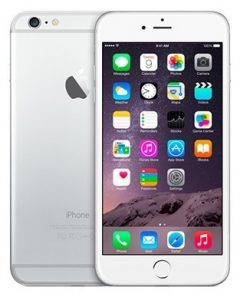 iPhone 6 Plus 16GB, 16GB, Silver