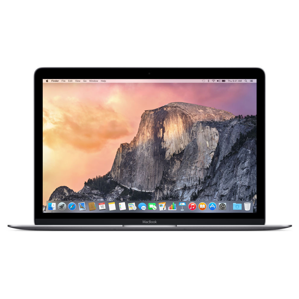 "MacBook 12"" Early 2015 (Intel Core M 1.3 GHz 8 GB RAM 256 GB SSD), Space Gray, Intel Core M 1.3 GHz, 8 GB RAM, 256 GB SSD"