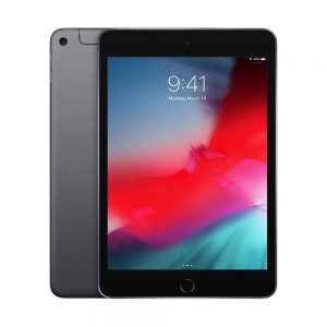 iPad 5 Wi-Fi + Cellular 128GB, 128GB, Space Gray