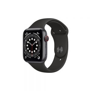 Watch Series 6 Steel Cellular (44mm), Space Black