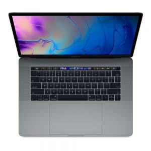 """MacBook Pro 15"""" Touch Bar Mid 2018 (Intel 6-Core i7 2.2 GHz 16 GB RAM 256 GB SSD), Space Gray, Intel 6-Core i7 2.2 GHz, 16 GB RAM, 256 GB SSD"""