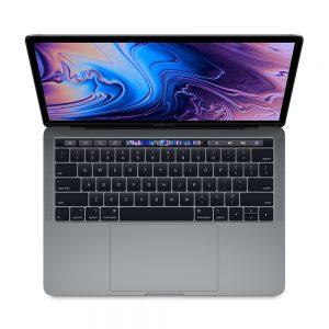 """MacBook Pro 13"""" 4TBT Mid 2019 (Intel Quad-Core i5 2.4 GHz 8 GB RAM 256 GB SSD), Space Gray, Intel Quad-Core i5 2.4 GHz, 8 GB RAM, 256 GB SSD"""