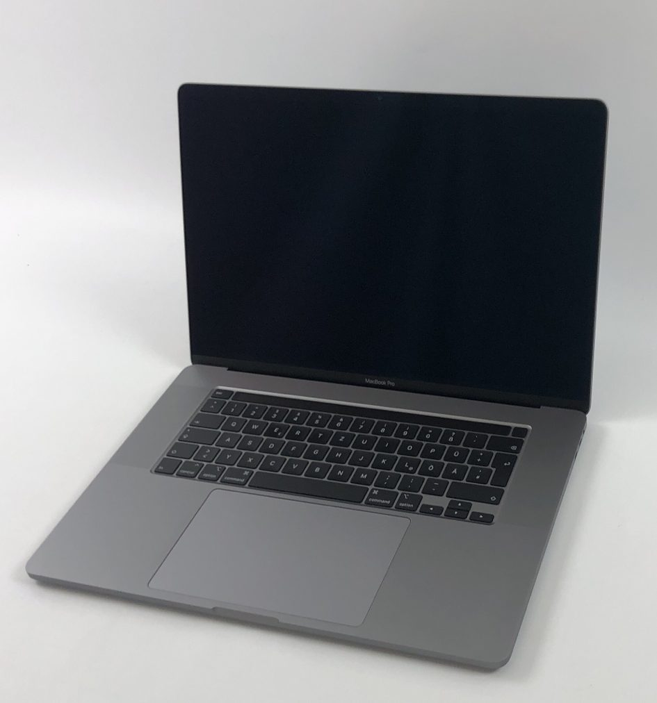 "MacBook Pro 16"" Touch Bar Late 2019 (Intel 6-Core i7 2.6 GHz 16 GB RAM 512 GB SSD), Space Gray, Intel 6-Core i7 2.6 GHz, 16 GB RAM, 512 GB SSD, Bild 1"