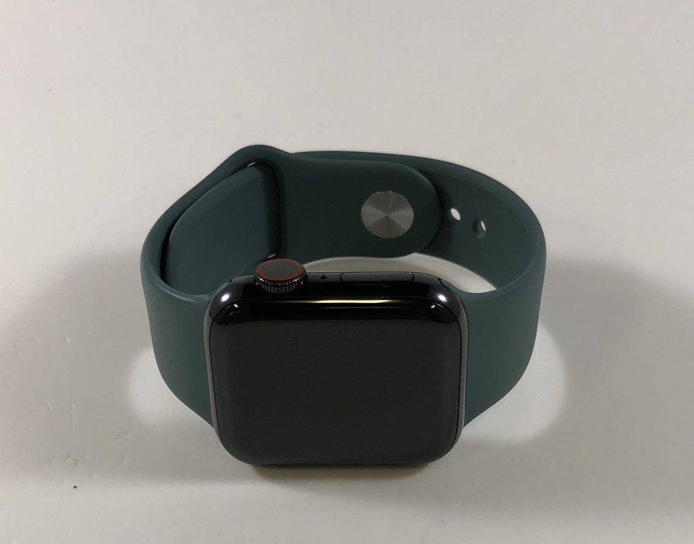 Watch Series 5 Steel Cellular (40mm), Space Black, bild 1