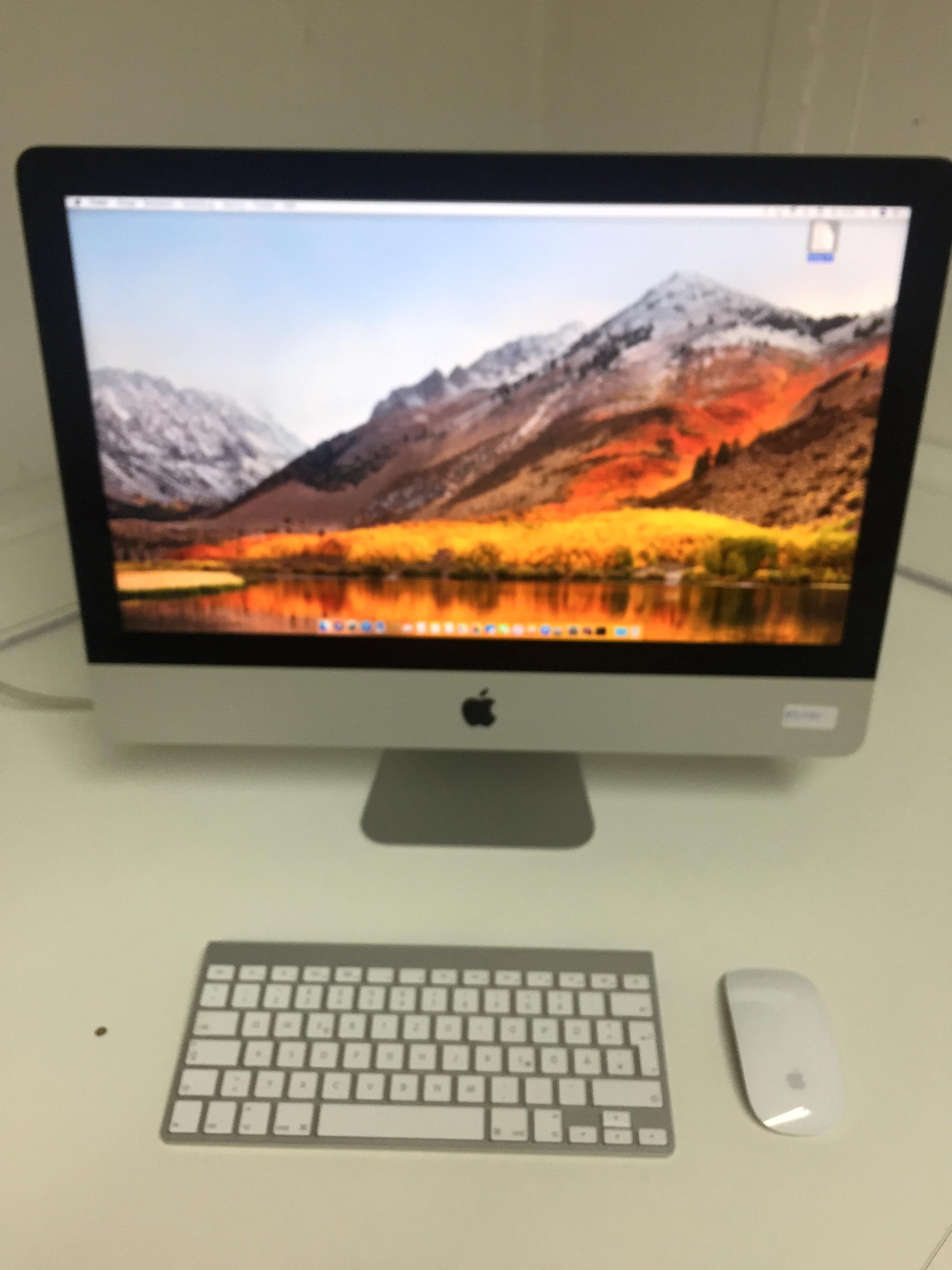 iMac 21.5-inch, 1.4 GHz Intel Core i5, 8 GB , 500 GB HDD, Bild 1