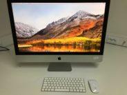 iMac 27-inch 5K, 3.2 GHz Intel Core i5, 8 GB , 1TB Fusion Drive