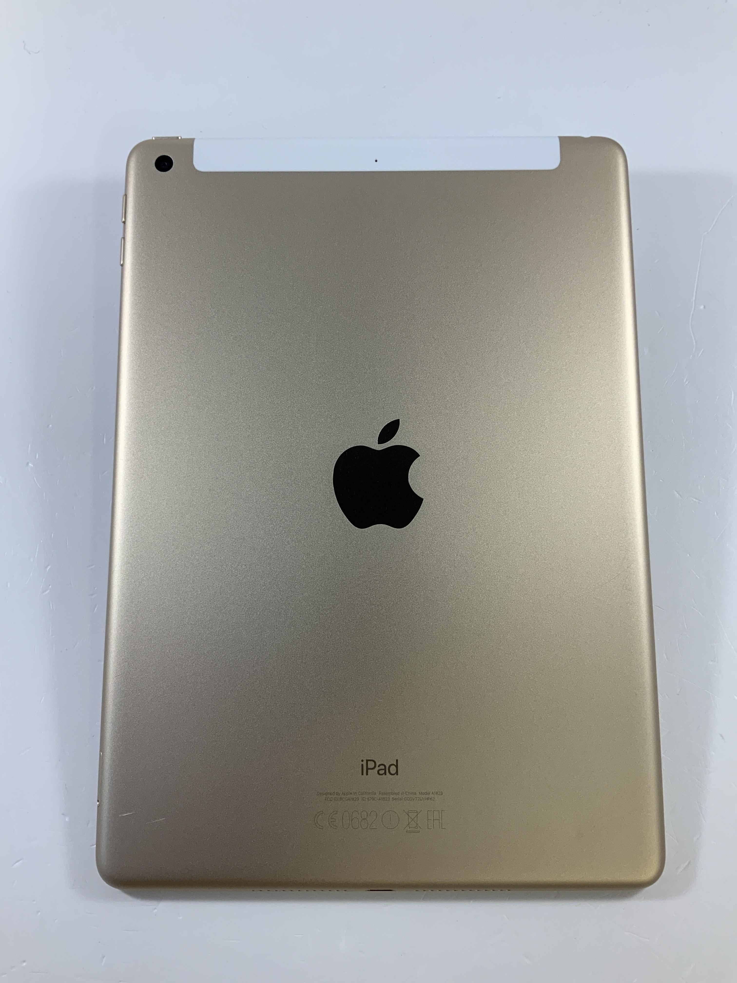 iPad 5 Wi-Fi + Cellular 128GB, 128GB, Gold, imagen 2