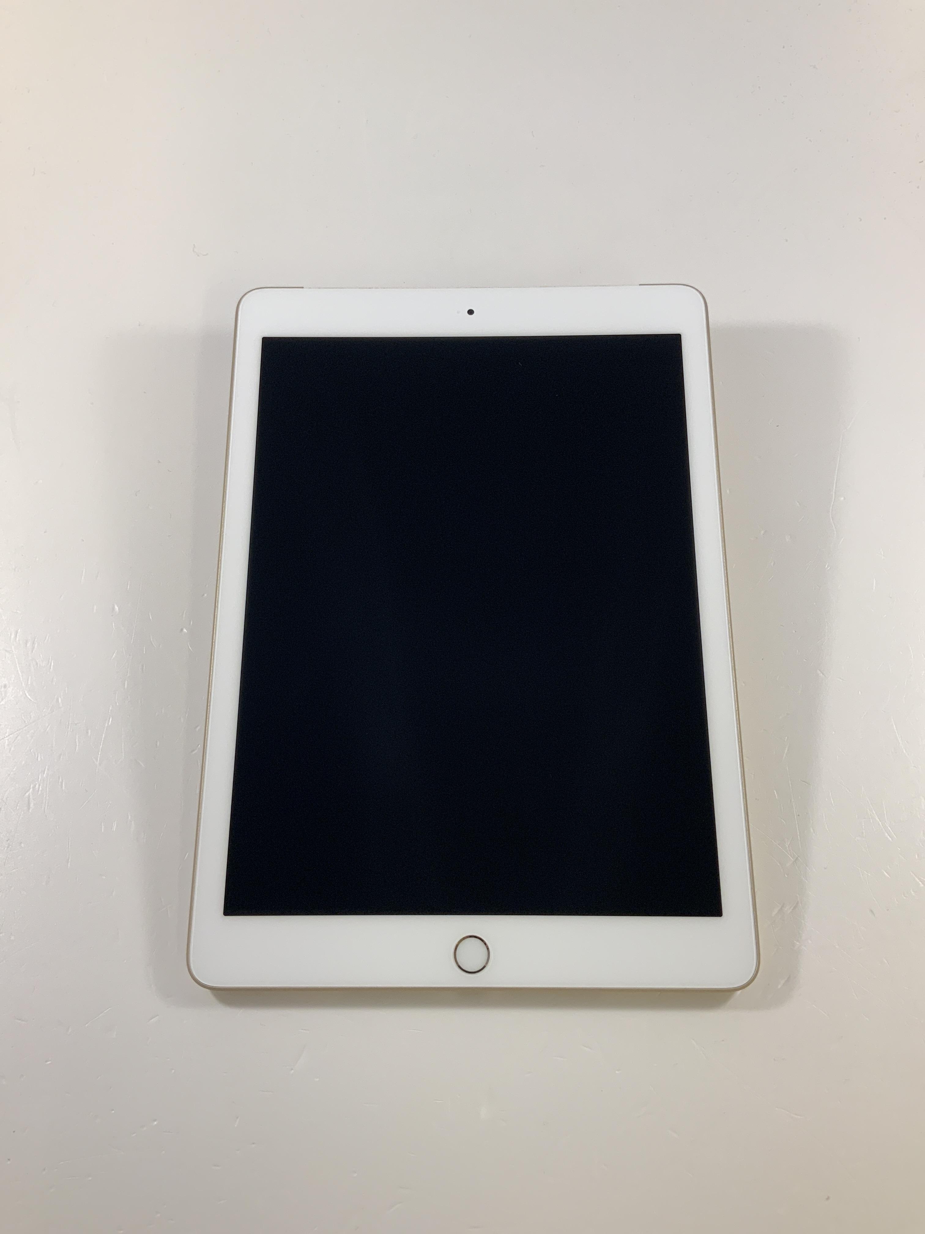 iPad 5 Wi-Fi + Cellular 128GB, 128GB, Gold, imagen 1