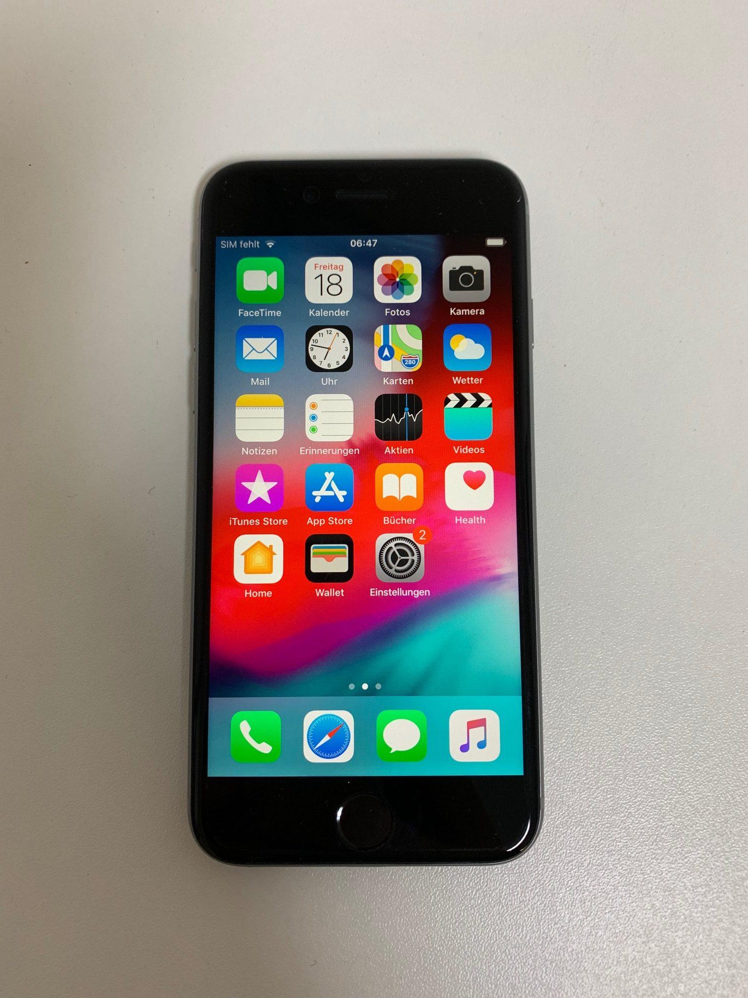 iPhone 6S 32GB, 32 GB, Space Gray, bild 1