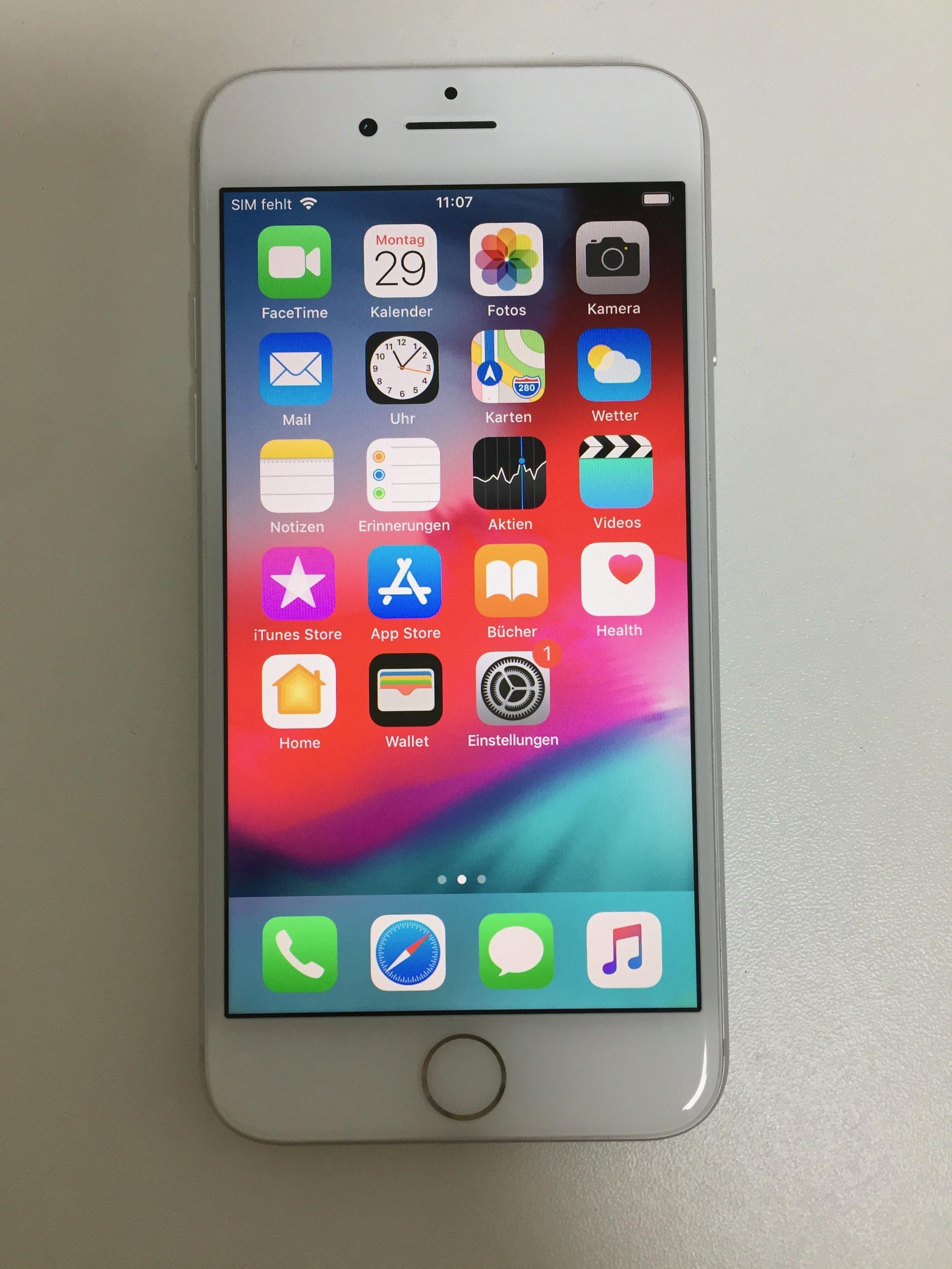 iPhone 8 64GB, 64 GB, Silver, Bild 1