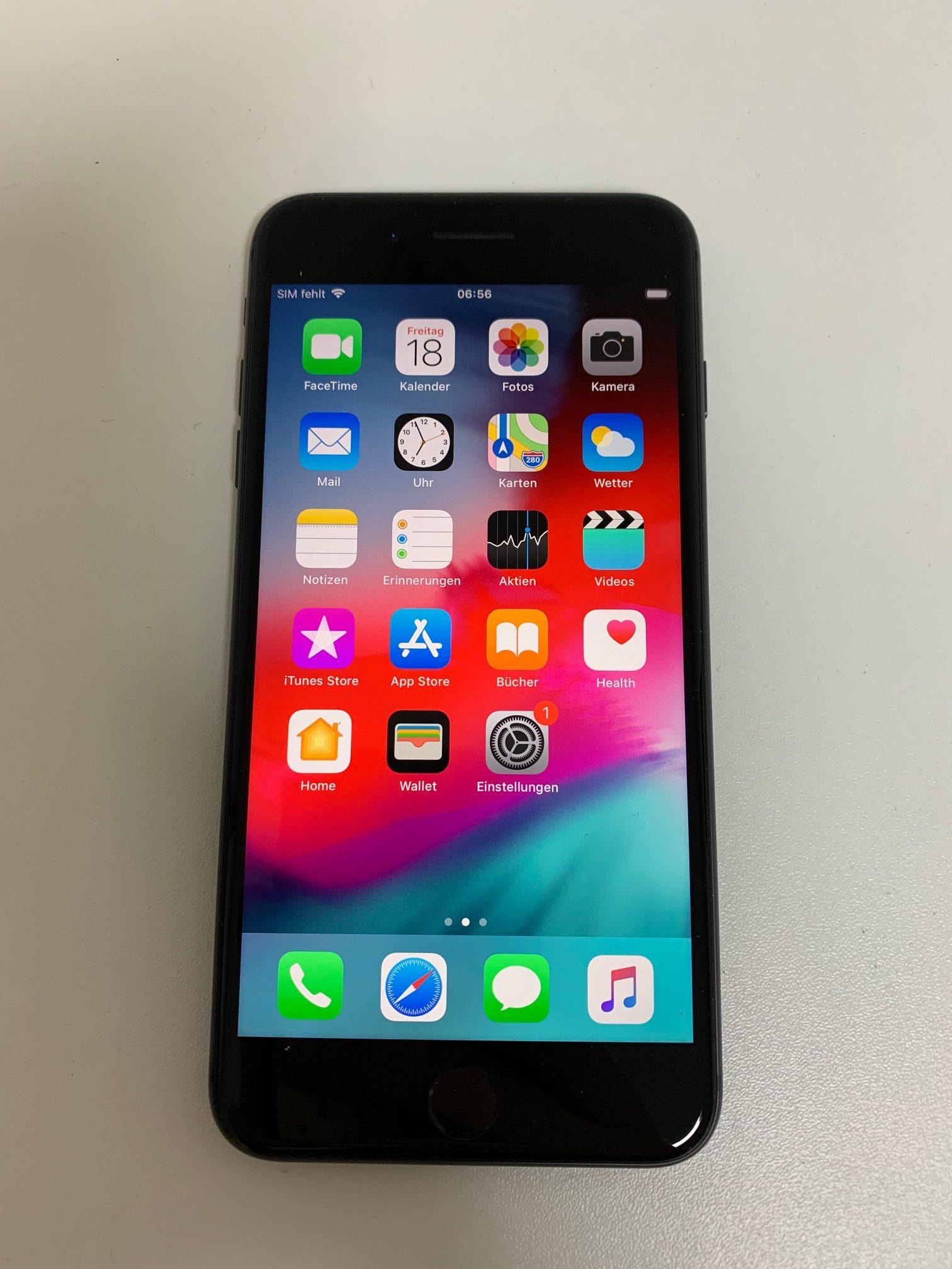 iPhone 8 Plus 64GB, 64GB, Space Gray, Afbeelding 1