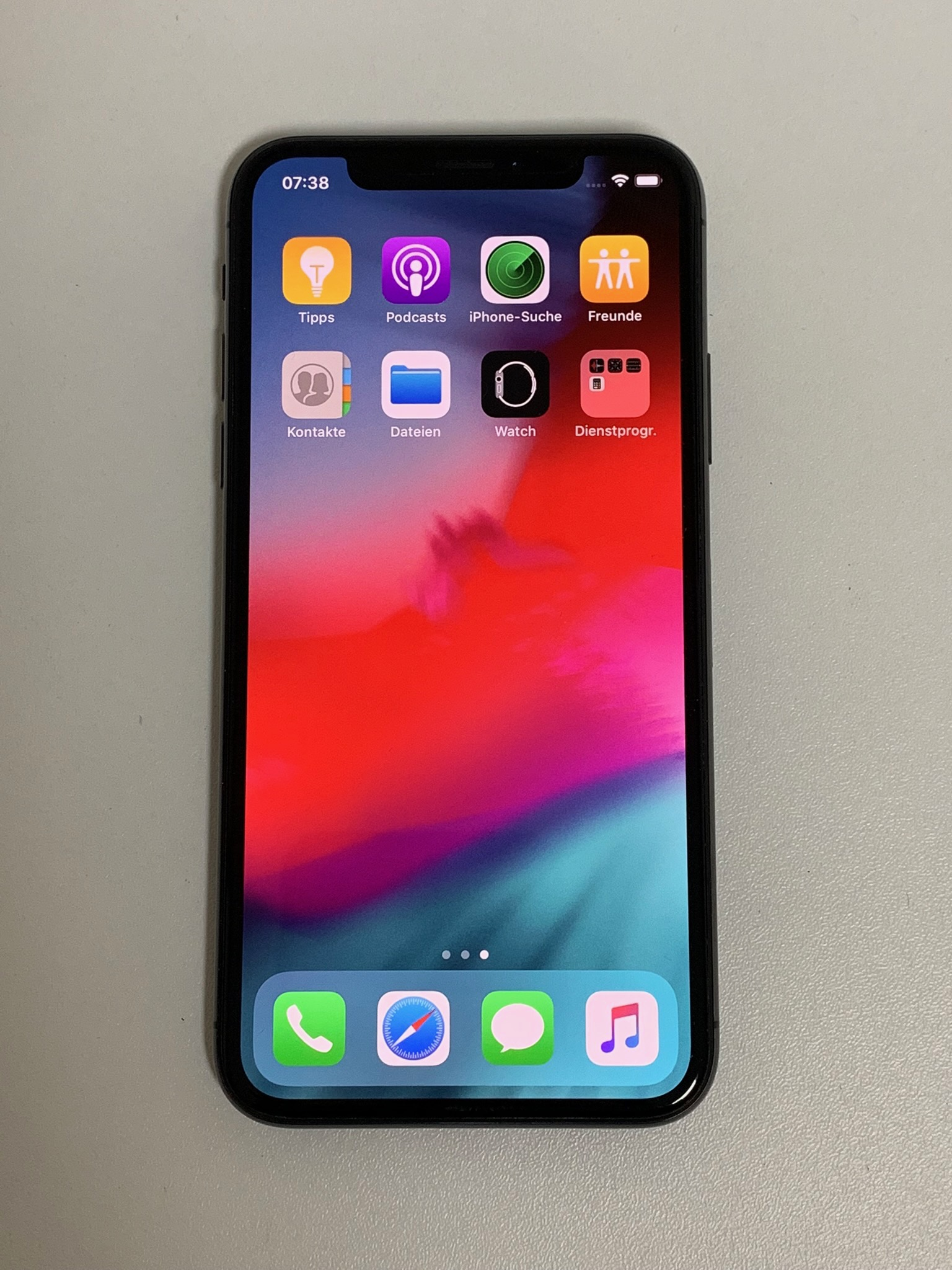 iPhone X 256GB, 256 GB, Space Grau, Bild 1