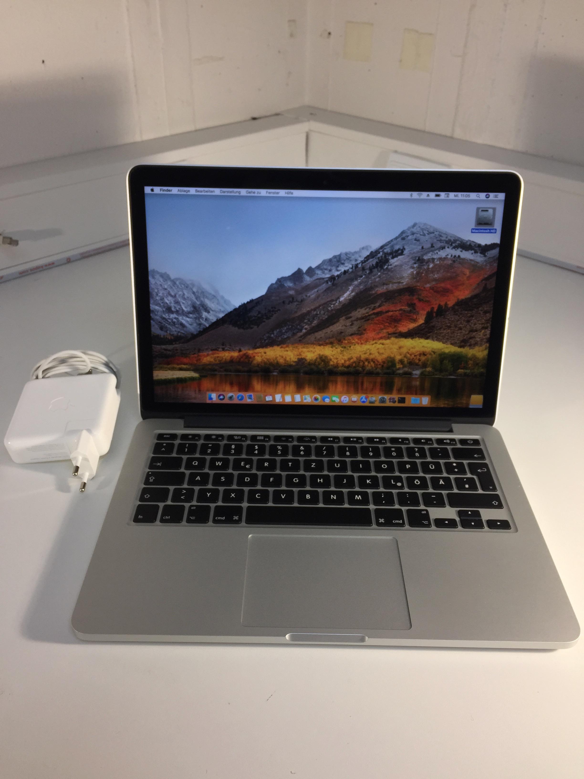 MacBook Pro 13-inch Retina, 2.6 GHz Intel Core i5, 16 GB, 128 GB Flash, Bild 2