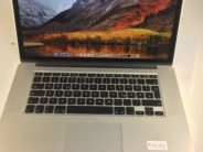 MacBook Pro 15-inch Retina, 2.4 GHz Intel Core i7, 8 GB, 256GB SSD