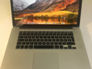 MacBook Pro 15-inch Retina, 2.0 GHz Intel Core i7, 16 GB , 256 GB Flash