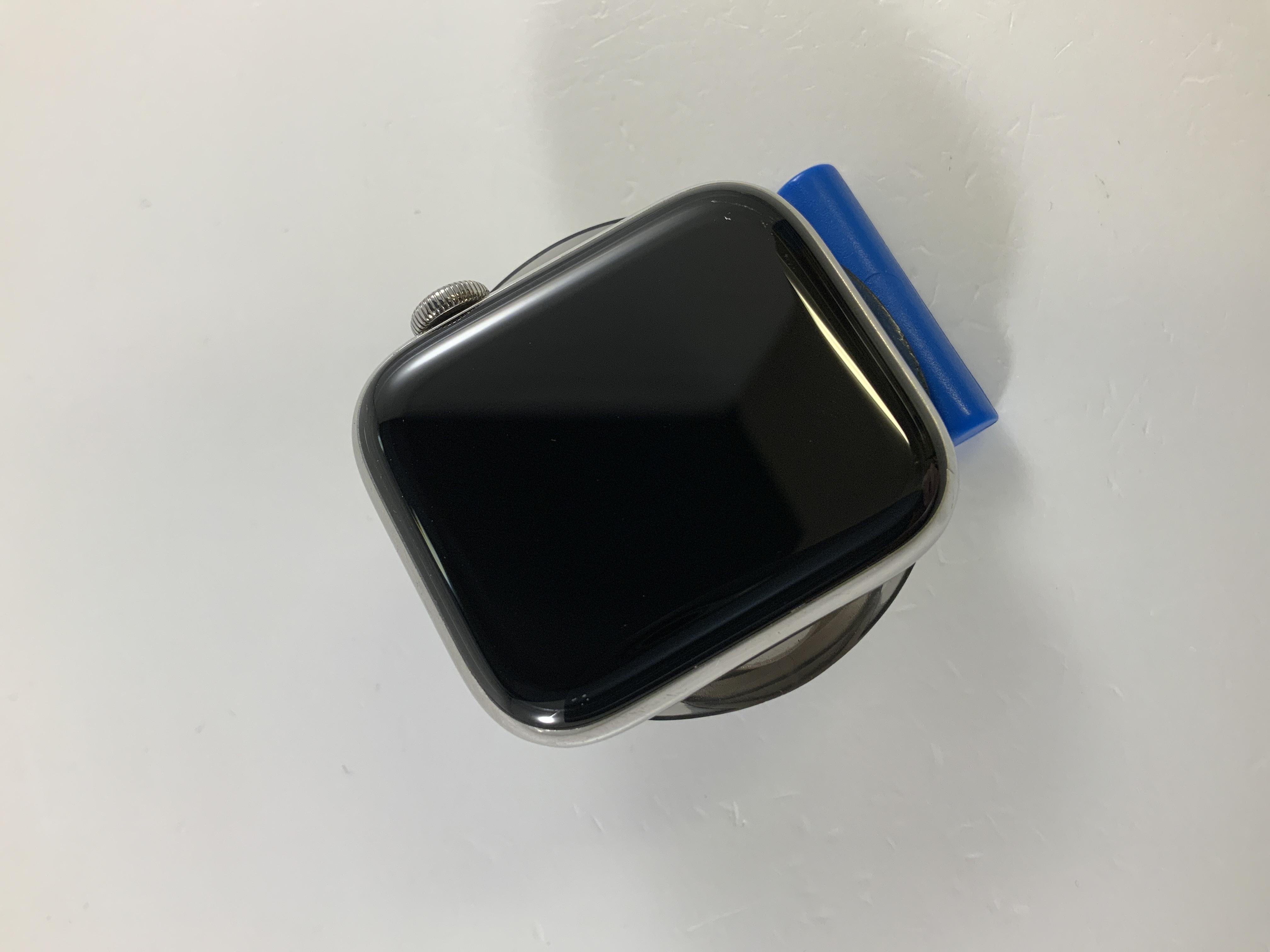 Watch Series 5 Steel Cellular (44mm), Silver, imagen 2