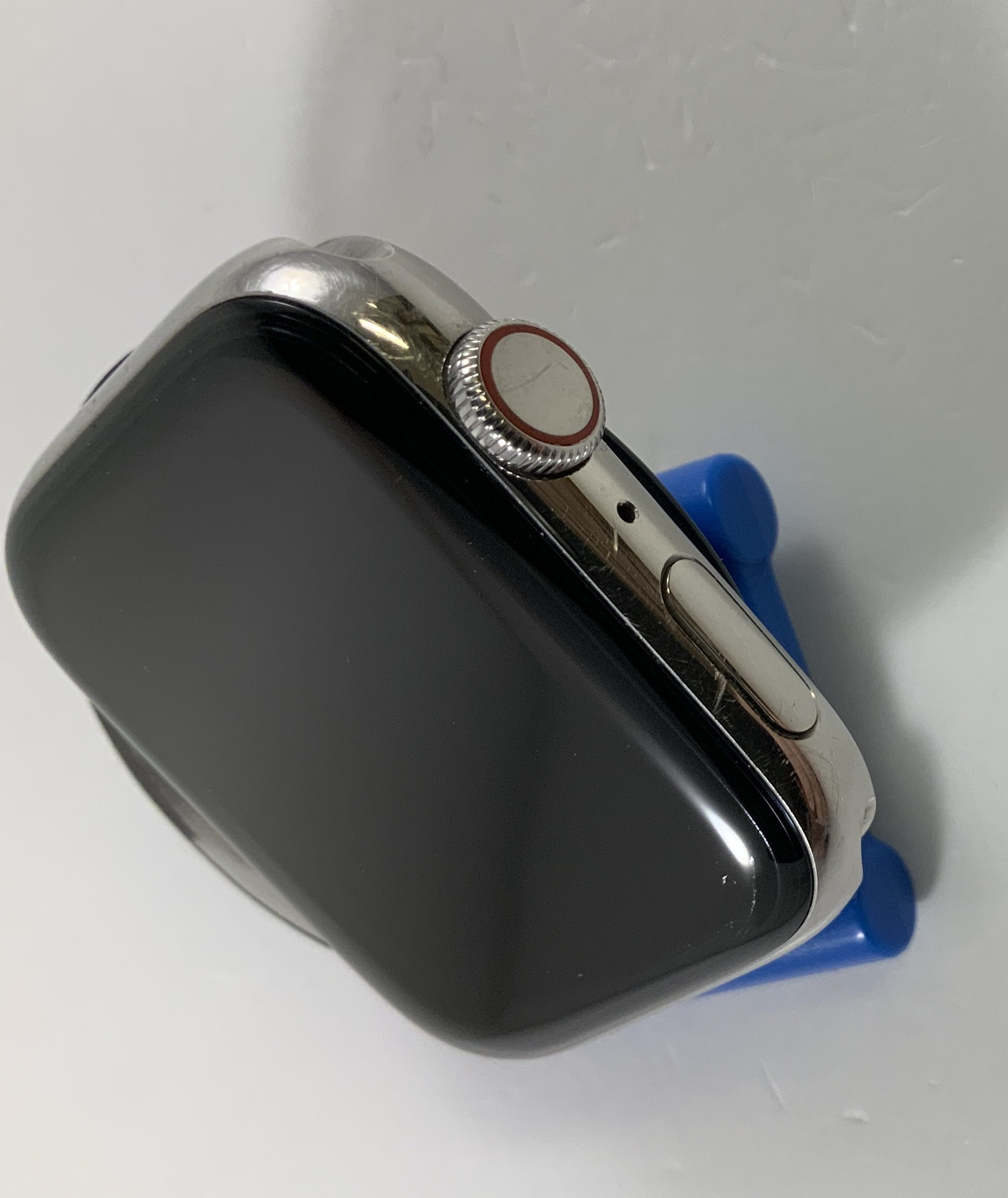 Watch Series 5 Steel Cellular (44mm), Silver, imagen 3